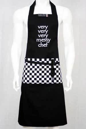 Very very very messy chef