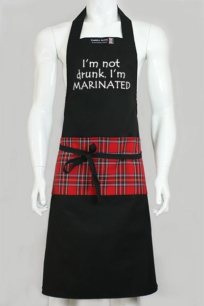 I'm not drunk, I'm MARINATED